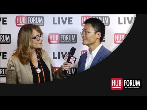 Weiliang Shi, Directeur Général France @ Huawei - Interview HUBFORUM 2018