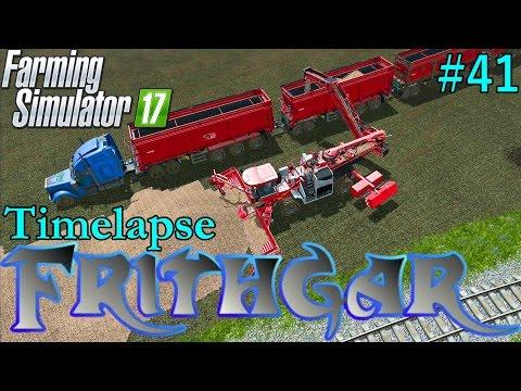 Farming Simulator 2017 Timelapse #41: Selling The Sugar Beet!