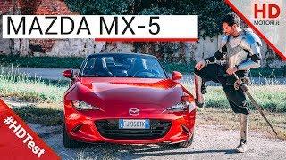 Mazda MX-5: recensione e prova su strada | HDtest