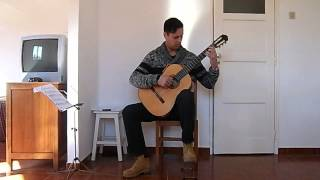 "Sérgio Fernandes plays Leo Brouwer - ""Cancion de Cuna -Berceuse"""