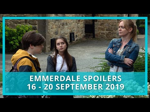 Emmerdale spoilers: 16-20 September 2019 - YouTube