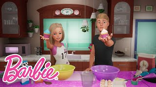 Barbie and Ken's Cupcake Baking Experiment | Barbie Vlog | Episode 56
