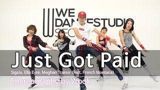 Just Got Paid - Sigala, Ella Eyre, Meghan Trainor(feat. French Montana) / Zumba® / POP / Wook Video