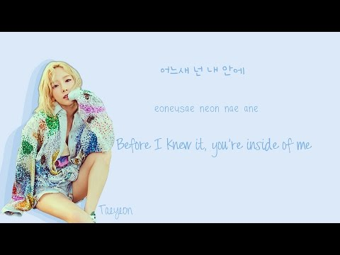 Free Download Taeyeon - Good Thing Lyrics (han|rom|eng Color Coded) | Soshi Lyrics Mp3 dan Mp4
