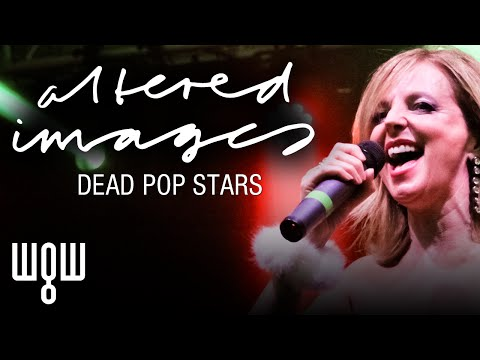 Whitby Goth Weekend - Altered Images - 'Dead Pop Stars' Live