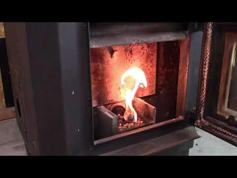 My garage heater, Older Englander Pellet Stove review