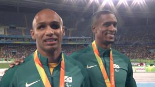 Athletics | Men's 100m - T11 Semi-Finals 2 | Rio 2016 Paralympic Games