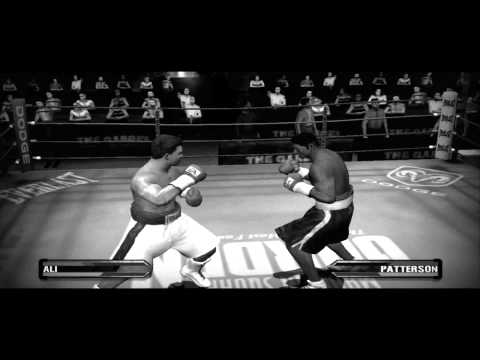 Muhammad Ali Vs Floyd Patterson - Fight Night Round 3 Vintage Look