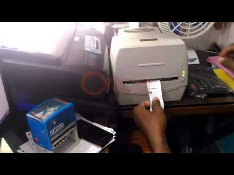 Orica Technologies Dry cleaning Software Tag Printing Demo