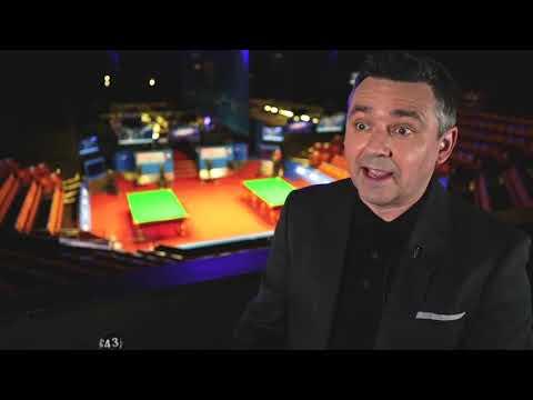 Alan McManus | Crucible Backstage Pass |  World Championship