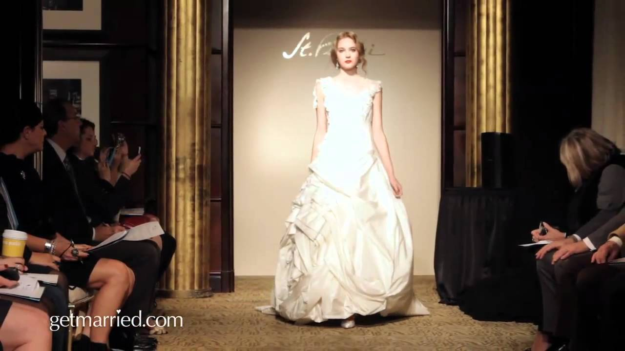 St Pucci Wedding Gowns | Runway Video Spring 2012 - YouTube