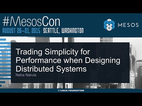 Keynote: Trading Simplicity for Performance When Designing Distributed Systems