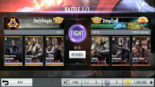 Injustice: Gods Among Us Mobile Multiplayer Trailer