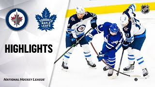 NHL Highlights | Jets @ Maple Leafs 01/18/21