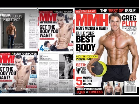 Get in a magazine, greg plitt step by step, it worked