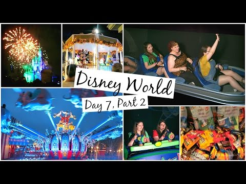 DISNEY WORLD VLOGS 2016   DAY 7, PART 2   MICKEYS NOT SO SCARY HALLOWEEN PARTY!