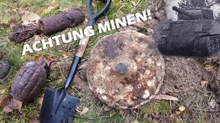 *LOUD EXPLOSION* Reporting a WW2 Anti-Tank Mine
