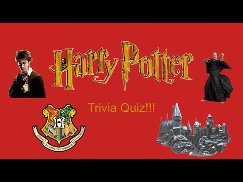 Harry Potter Trivia Quiz
