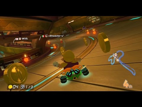 Mario Kart 8: wario dpader VS hacker