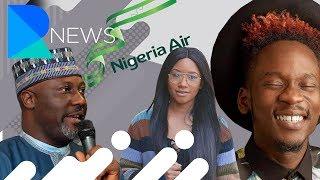 Mr Eazi and Temi Otedola, Nigeria's Official Airline: Nigeria Air