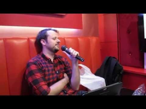 """George sings """"Snake Eater"""" at a Karaoke parlor in Tokyo"""