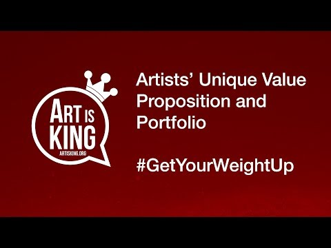 The Importance of Artists' Unique Value Proposition with Art Is King