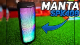 Manta SPK409 Hard Beat Test, Recenzja - Porównanie do JBL GO