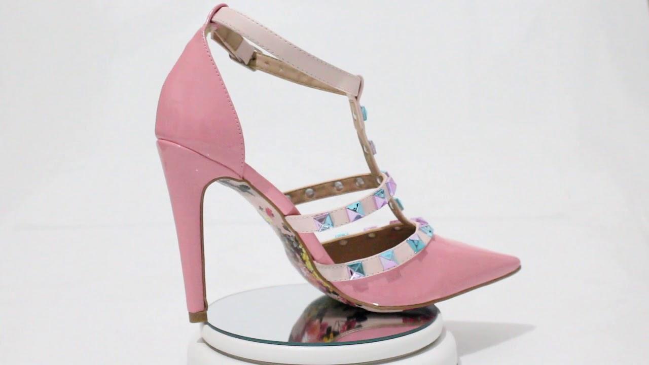77ec16e9a9 Scarpin Salto Alto Valentino Rosa Bebê – Week Shoes  Será que vale a pena