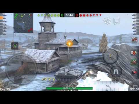 【World of Tanks Blitz】 SPIC Gameplay Part1