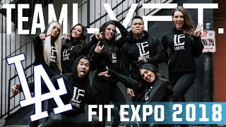 LA FIT EXPO 2018 with TEAM LVFT