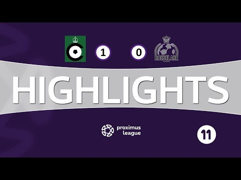 Highlight NL / Cercle Brugge - Roeselare (27/01/2018)