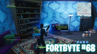 Fortnite Battle Royale ? Fortbyte Challenges How to get the Fortbyte #68