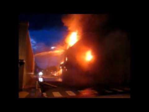 Paris, Texas Dixon Furniture fire explosion backdraft
