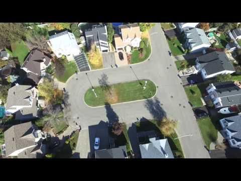 Drone 250 pieds Laval Québec