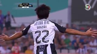 Goal   Golo Anzai: Portimonense (2)-2 FC Porto (Liga 19/20 #5)