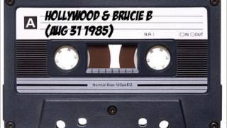 hollywood & brucie b - live at disco fever (aug 31 1985)