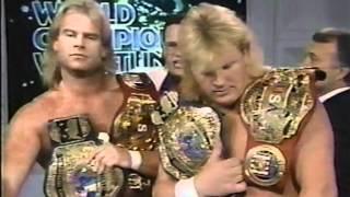 Jim Cornette And Midnight Express on the Mic
