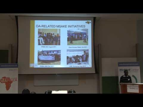 Open Access Africa: Student Advocacy:Daniel Mutonga