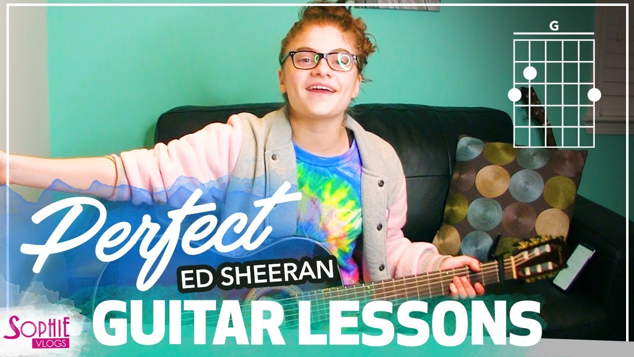 Perfect - Ed Sheeran | Easy Guitar Songs for Beginners & Chords (by Sophie Pecora)