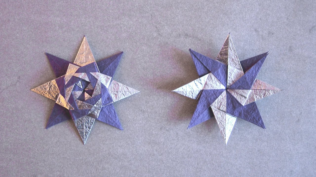 christmas origami diagram brain model instructions braided star maria sinayskaya