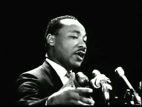 Dr  Martin Luther King Jr  at Stanford   'The other America' 1967