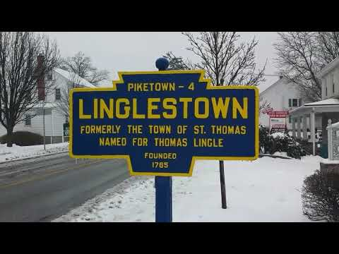 Taking a Snow Day, Tour of Linglestown, Pa