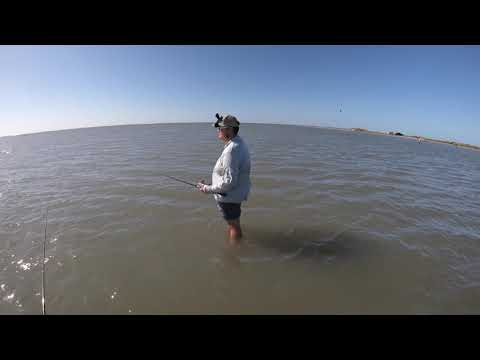 Wade Fishing San Luis Pass Texas