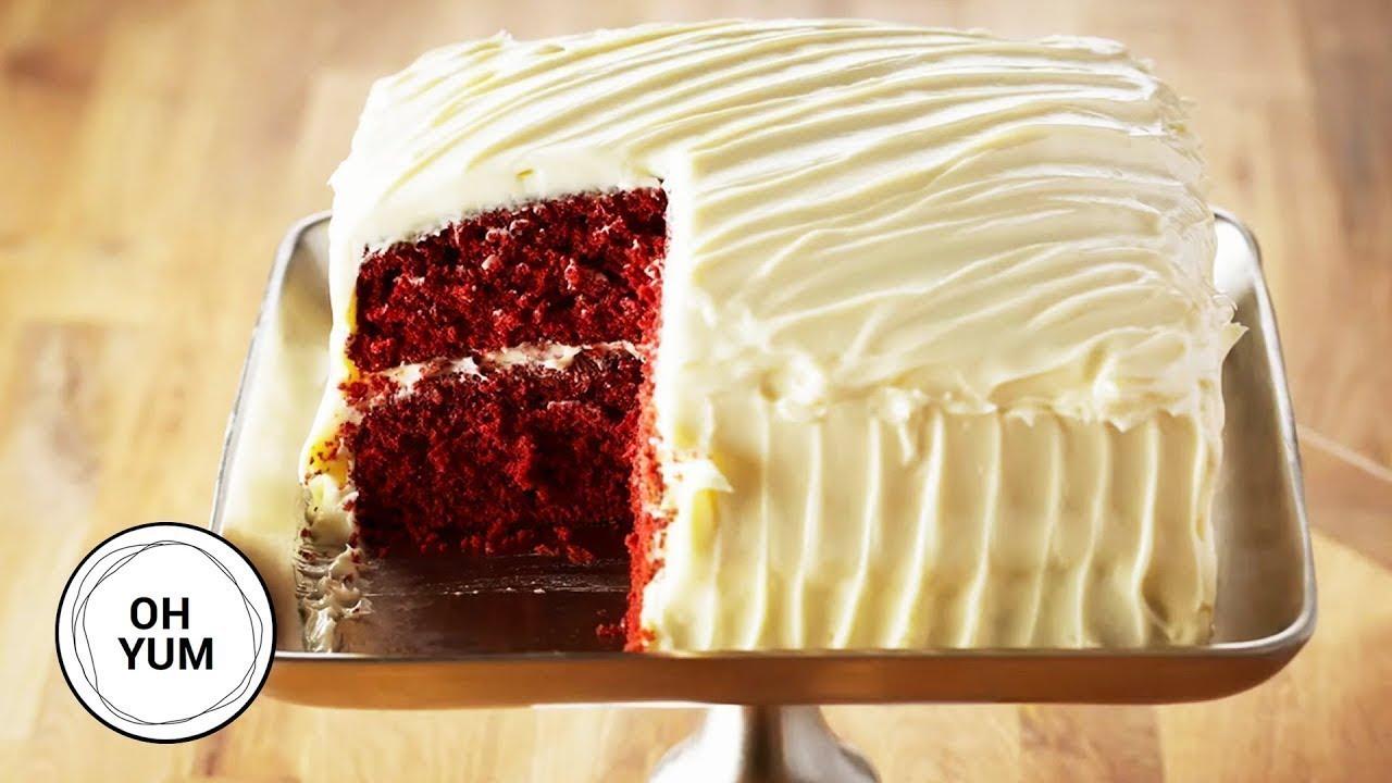 Amazing Red Velvet Cake Recipe Oh Yum With Anna Olson Youtube