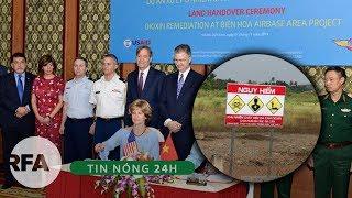 Tin nóng 24H | Việt Nam – Hoa Kỳ cam kết khắc phục hậu quả sau chiến tranh đến điểm cuối cùng
