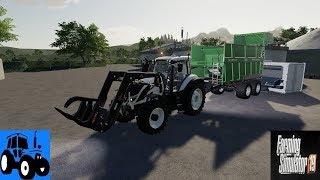 Let's Play Farming Simulator 2019 Norsk Alps Panorama At The Northern Sea Episode 19