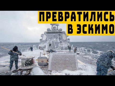 Учения ВМС НАТО в Баренцевом море закончились конфузом