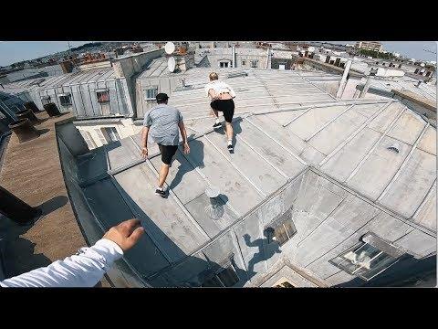 How we did it! Paris Rooftop Parkour 🇫🇷
