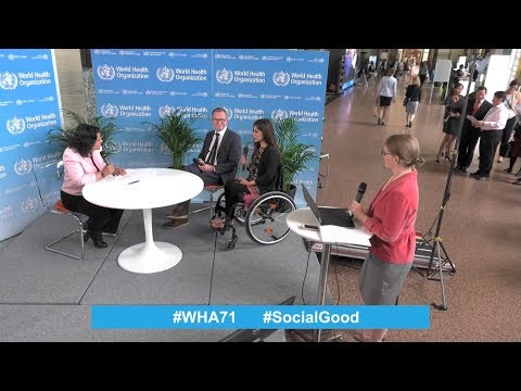 Live from the World Health Assembly: World Health +SocialGoo
