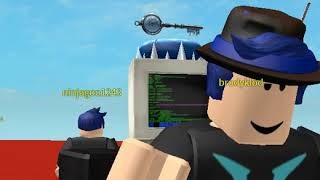 a hacker in roblox (playing meet nicolas77, and flee the facility